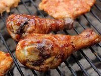 Куриные голени на решетке