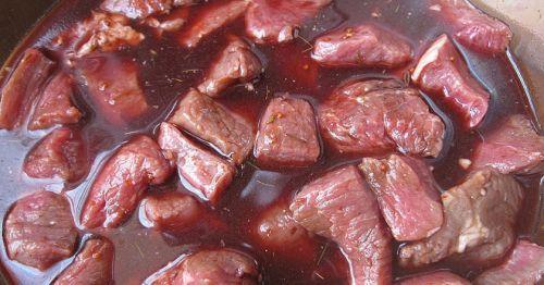 Маринование свринины с вишневым соком