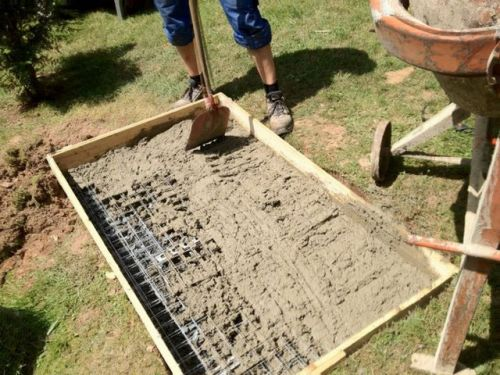 Устройство фундамента под мангал из кирпича