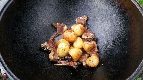 Картошка с бараниной
