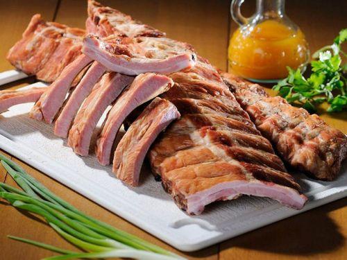 Копченые свиные ребра