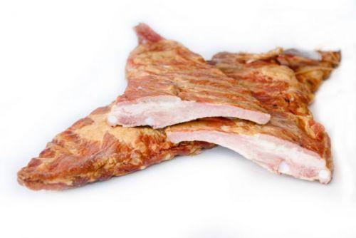 Свиные ребра холодного копчения