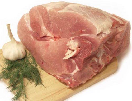 Свинина с косточкой