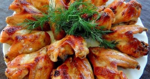 Курица барбекю