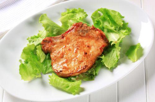 Свинина, приготовленная на гриле