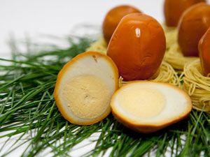 Копченые яйца