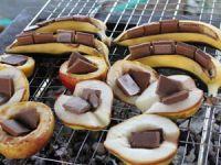 Десерты на углях